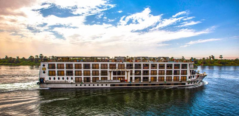 Crucero por el Nilo MS Salacia