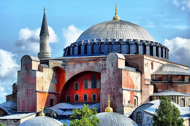 Hagia Sophia Museum in Turkey