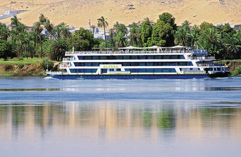 MY Alyssa Nile Cruise Egypt