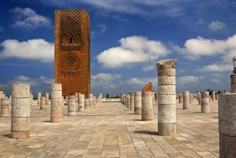 La Torre di Hassan, Minareto di una Moschea Incompleta