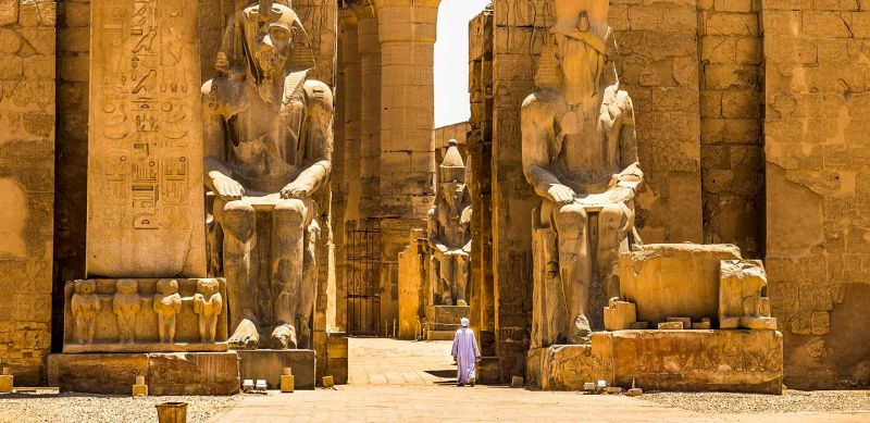 Luxor Temple of Egypt
