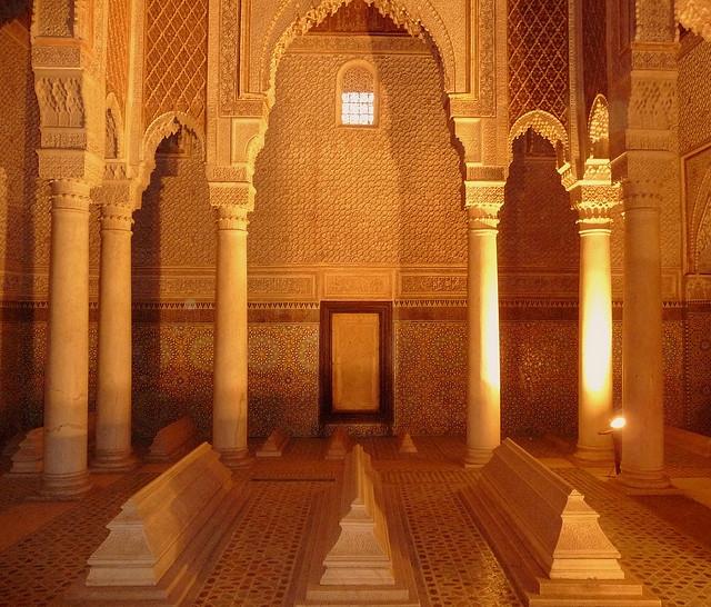 Saadin Tombs, Marrakech