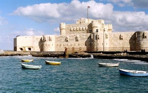 Qaitbay Citadel, Alexandria