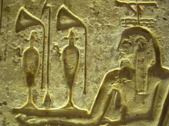 Abydos Temple Carving Relief