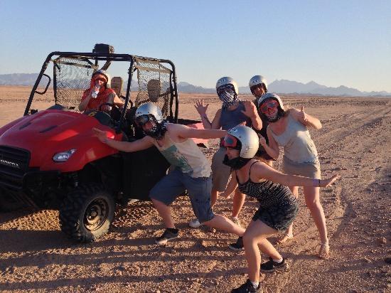 Sunset Car Buggy Safari Hurghada