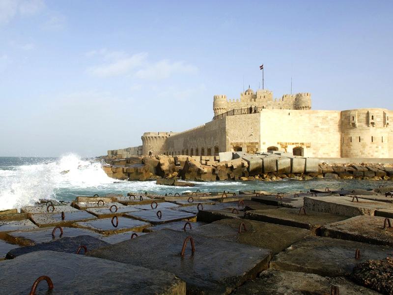 Die Qaitbay-Zitadelle