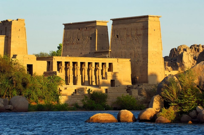 Tempio di File, Assuan
