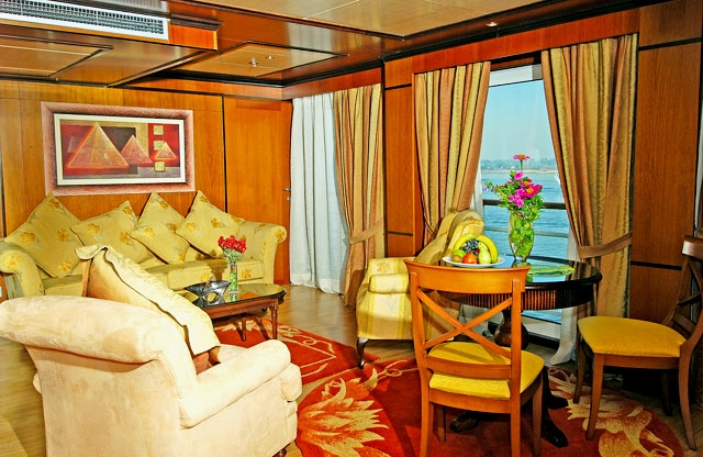 MS Amarco I Nile Cruise Imperial Suite