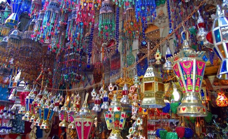 Selling Lanterns of Ramadan