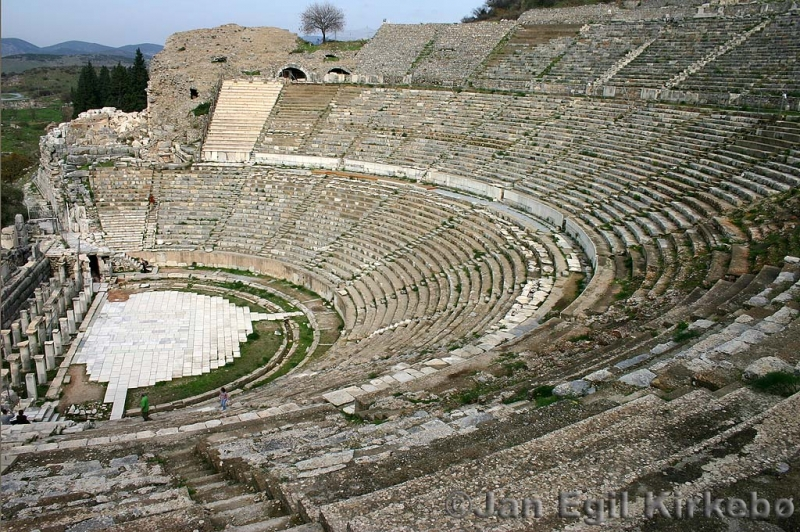Ephesus Roman Theater in Turkey