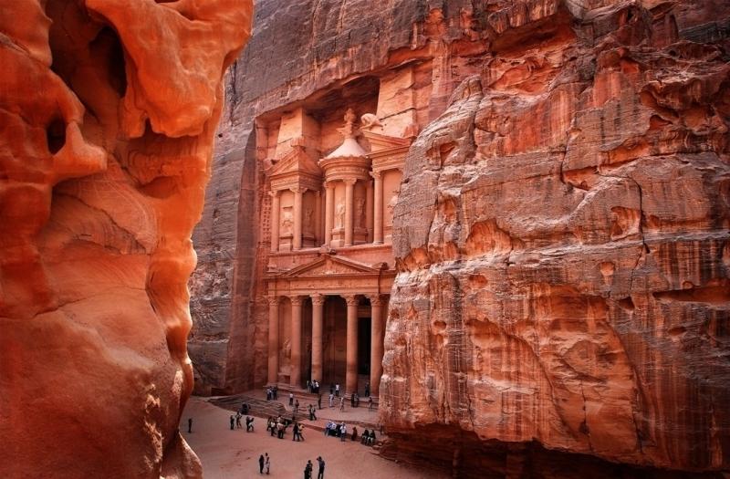 The Treasury (Al-Khazneh) in Petra