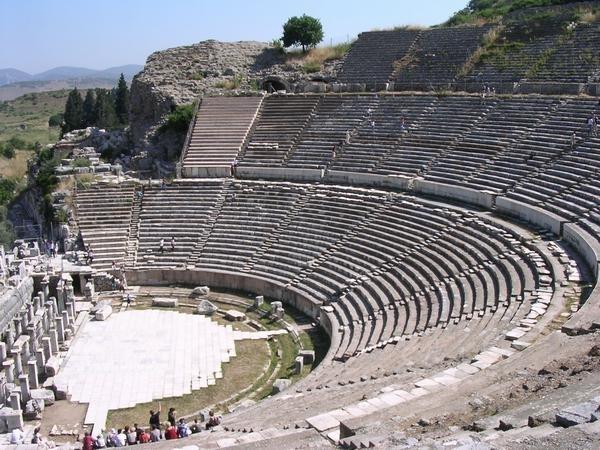 El Gran Teatro en Efeso