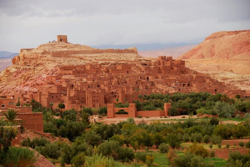 The Kasbah of Ait Benhaddou, Ouarzazate