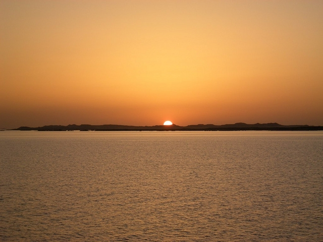 Sunset at Lake Nasser