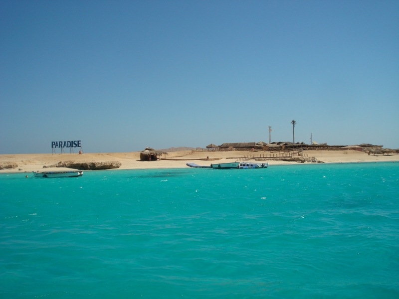 The Paradise Island of Giftun in Hurghada