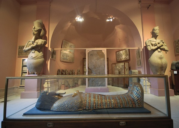Inside The Egyptian Museum at Tahrir Square, Cairo
