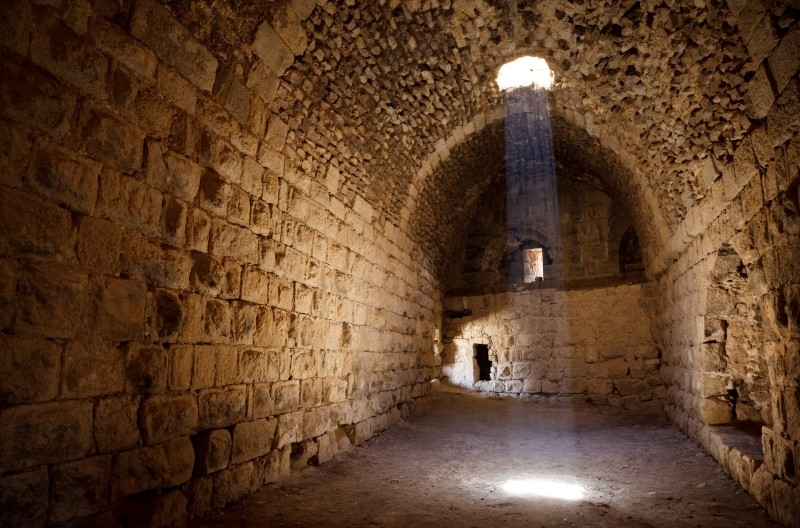 Kerak Castle Interior