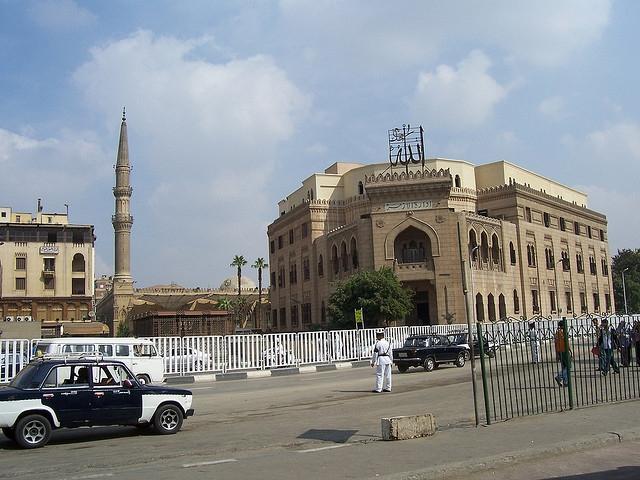 Al Azhar Mosque at Al Hussein Area