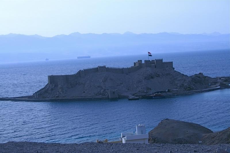 Snorkeling île du Pharaon à Taba