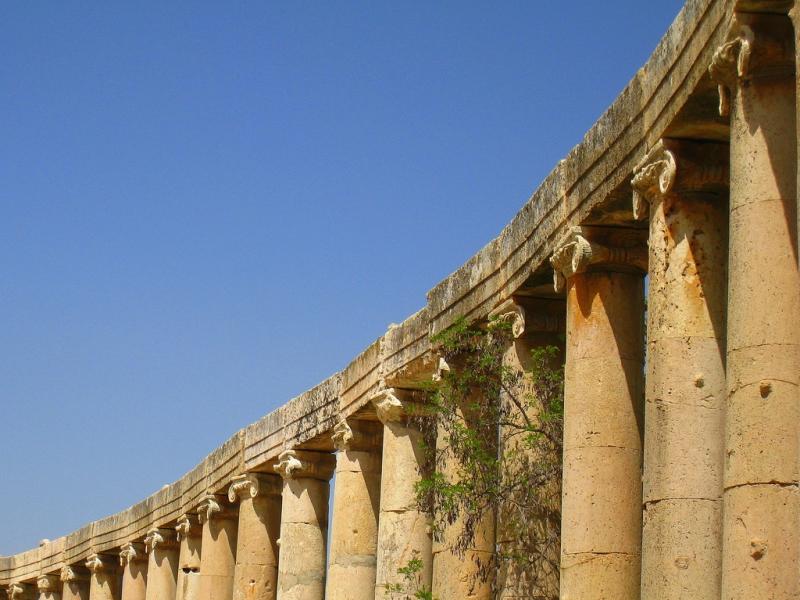 Jerash Colonnades