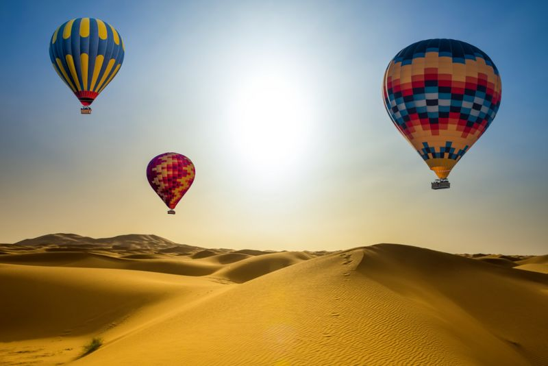 Dubai Hot Air Balloon
