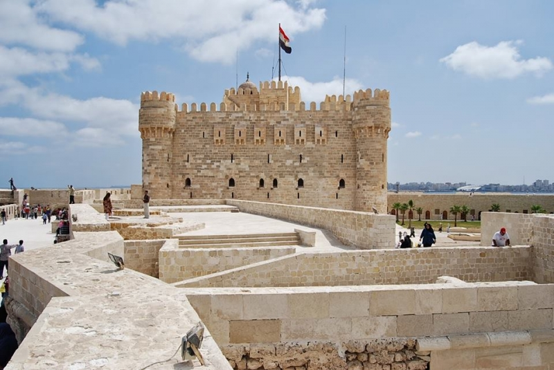 Qaitbay Citadel At Alex