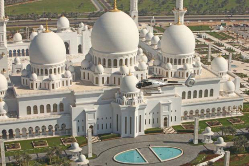 Helicopter Sightseeing Tour Abu Dhabi