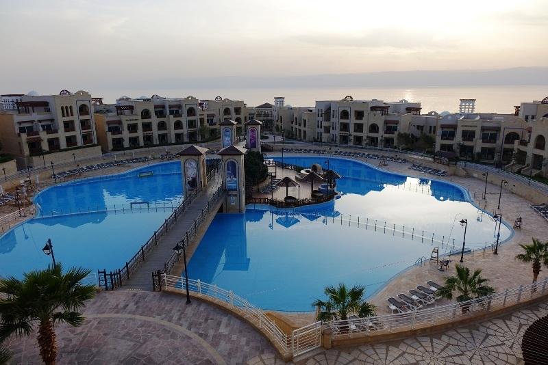 The Dead Sea Hotel.