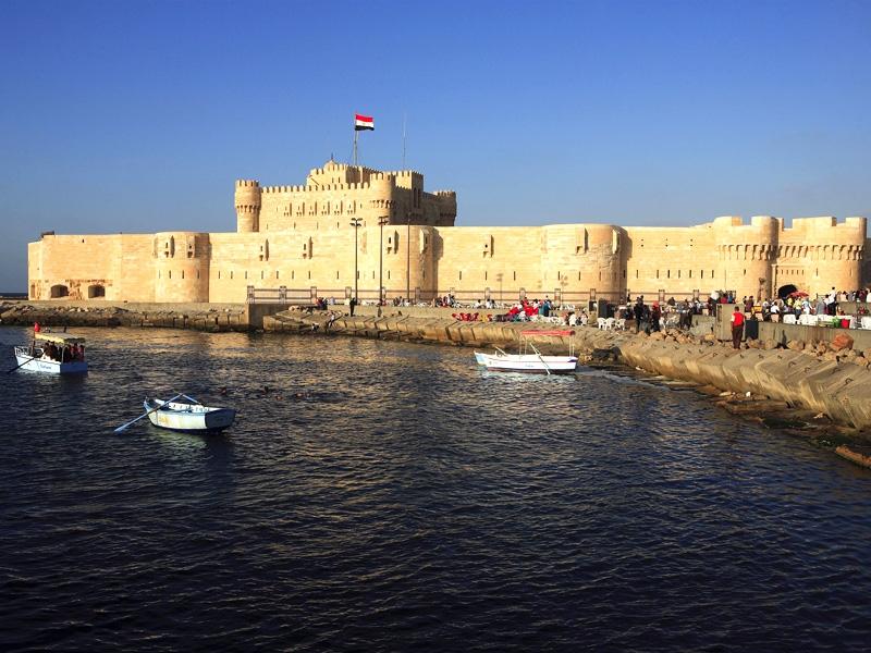 Qayetbay Citadel in Alexandria