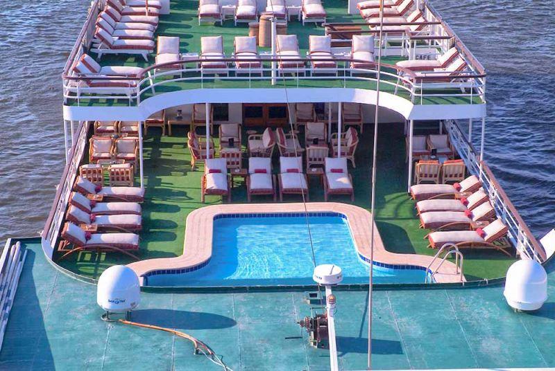MS Salacia Nikreuzfahrtschiff | 5 Sterne Nilschiffe