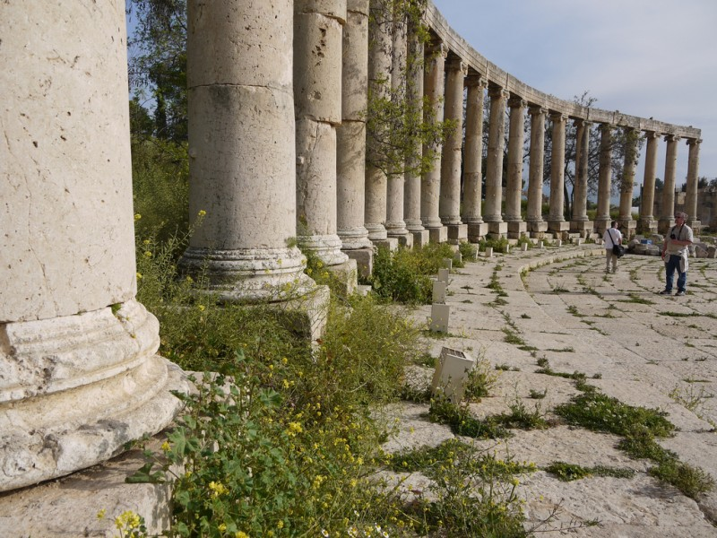 Oval Palace, Jerash