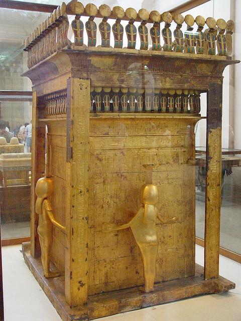 Tutankhamun's Canopic Shrine, Egyptian Museum