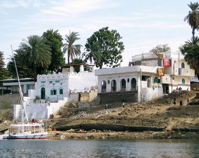 Nubian Houses at Elephantine Island