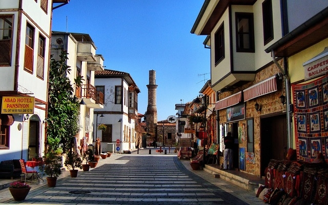 Antalya City Streets, Turkey