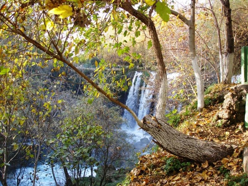 Duden Waterfalls View