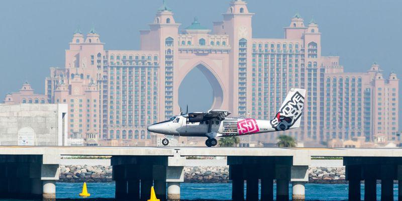 O Skydive de Dubai