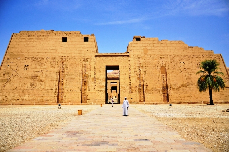 Temple of Habu, Luxor