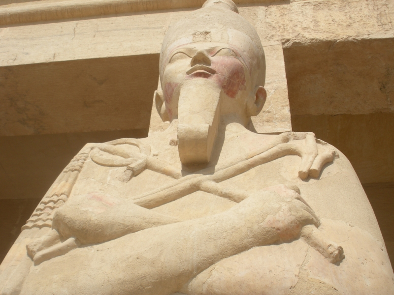 Statue from Hatshepsut Temple