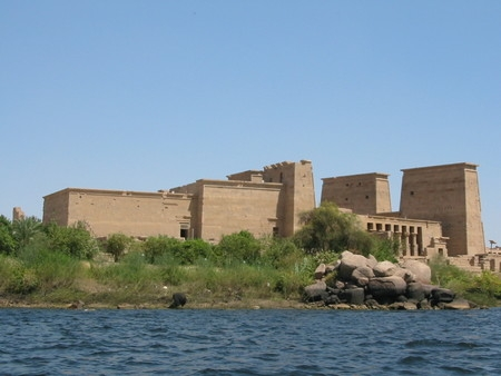 O Templo de Philae, Aswan