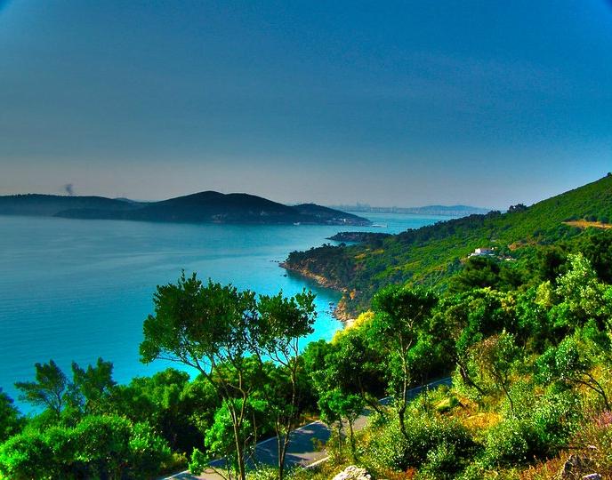 The Princes' Islands in Turkey