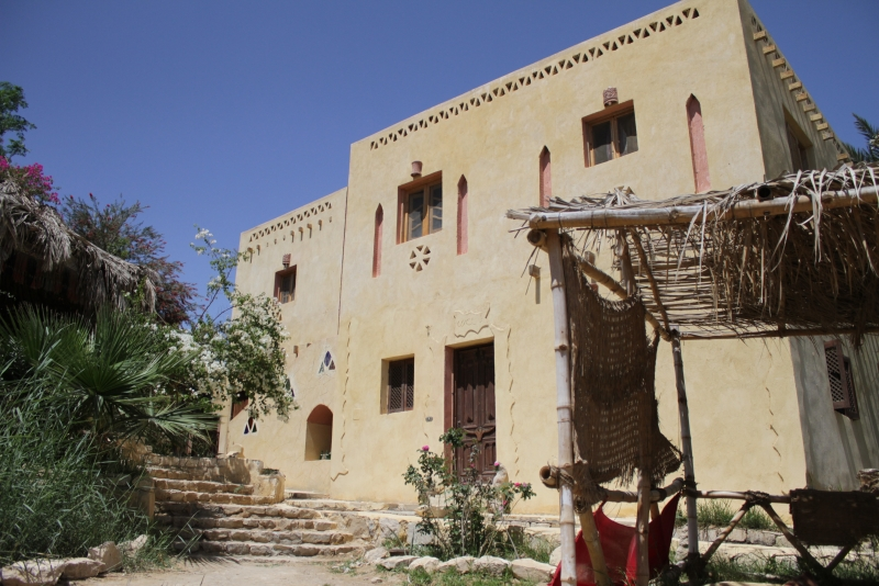 Le lodge au Tunis Village au Fayoum