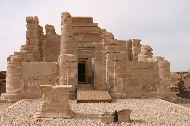 Roman  Temple in Deir El-hagar