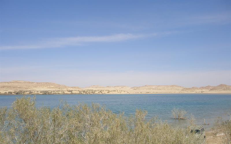 Lago di Shitta, Oasi di Siwa