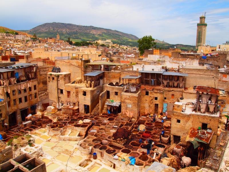 Cidades Imperiais a partir de Marrakech