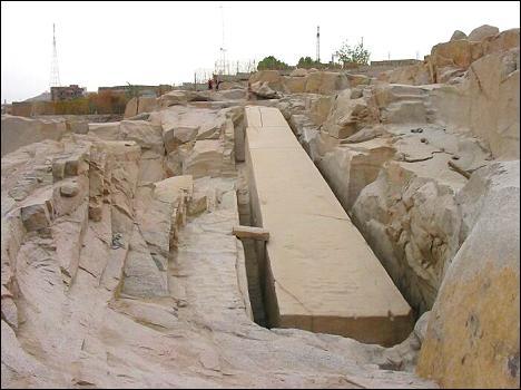 Unvollendeter Obelisk