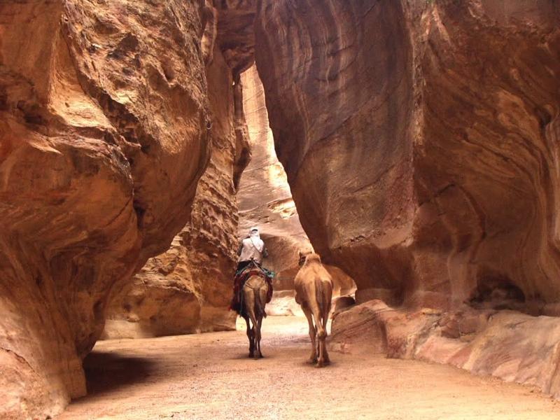 Horse Riding, Siq in Petra - Jordan