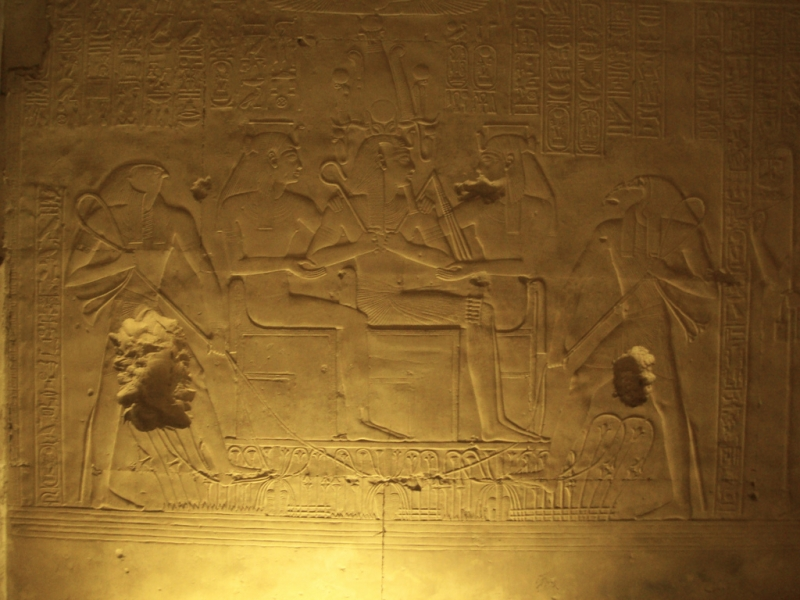 Seti I Temple Reliefs at Abydos