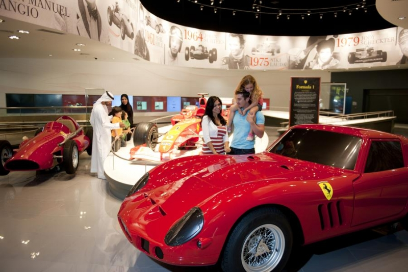 Tour To Ferrari Park at Yas Island from Dubai