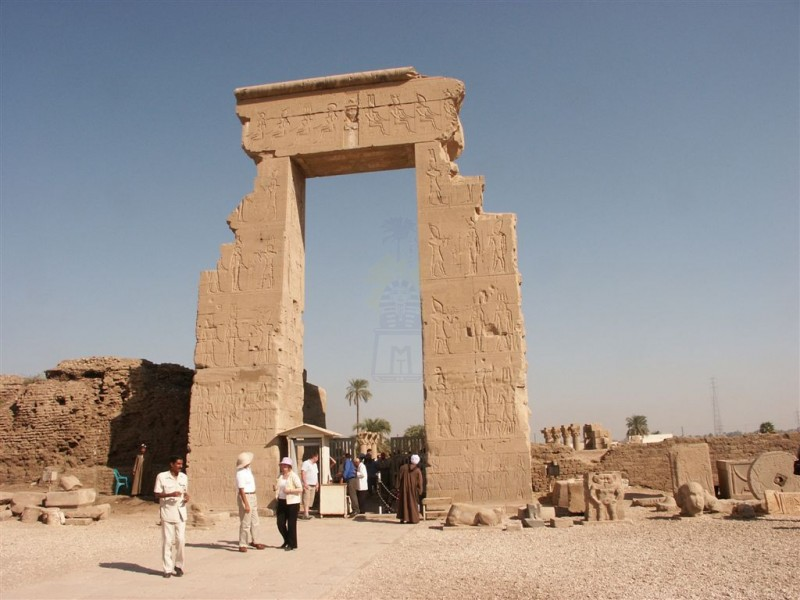 Gate of Dendera Temple, Luxor