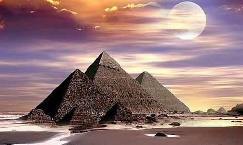 Las Pirámides de Guiza, Keops, Kefrén y Micerinos
